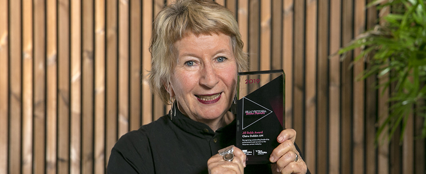 MIFF CHAIR CLAIRE DOBBIN AM WINS 2019 JILL ROBB AWARD