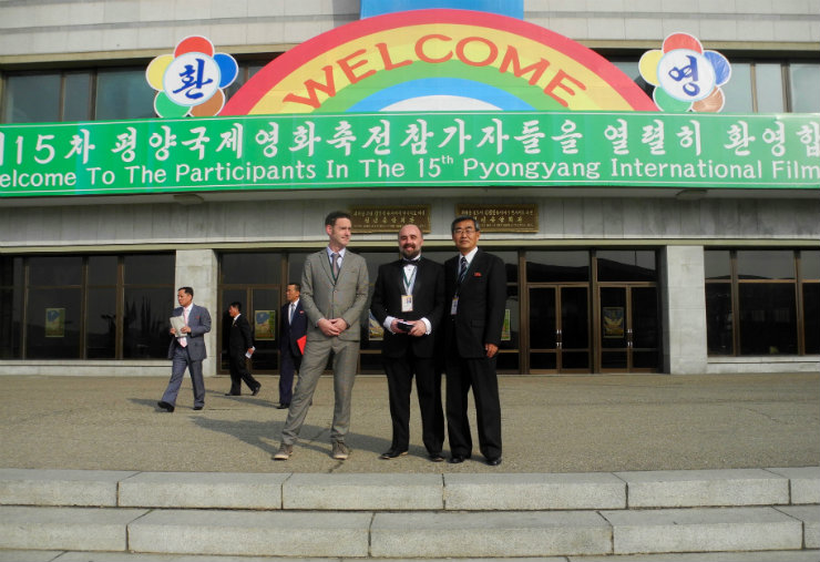 A Glimpse Inside the Pyongyang International Film Festival 2016