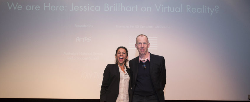 MIFF Talking Pictures Podcast | We Are Here: Jessica Brillhart on Virtual Reality
